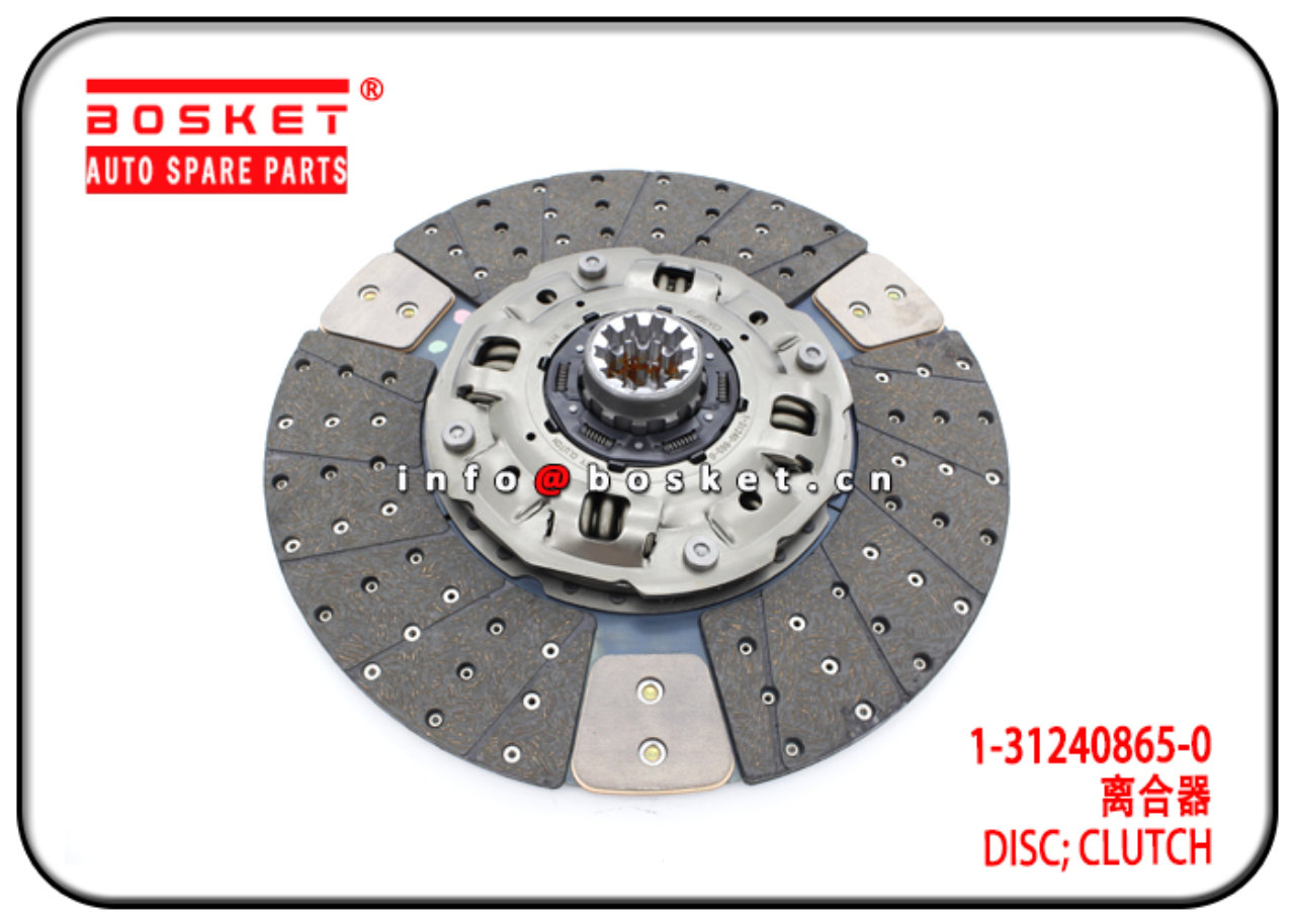 1-31240865-0 1312408650 Clutch Disc Suitable for I...