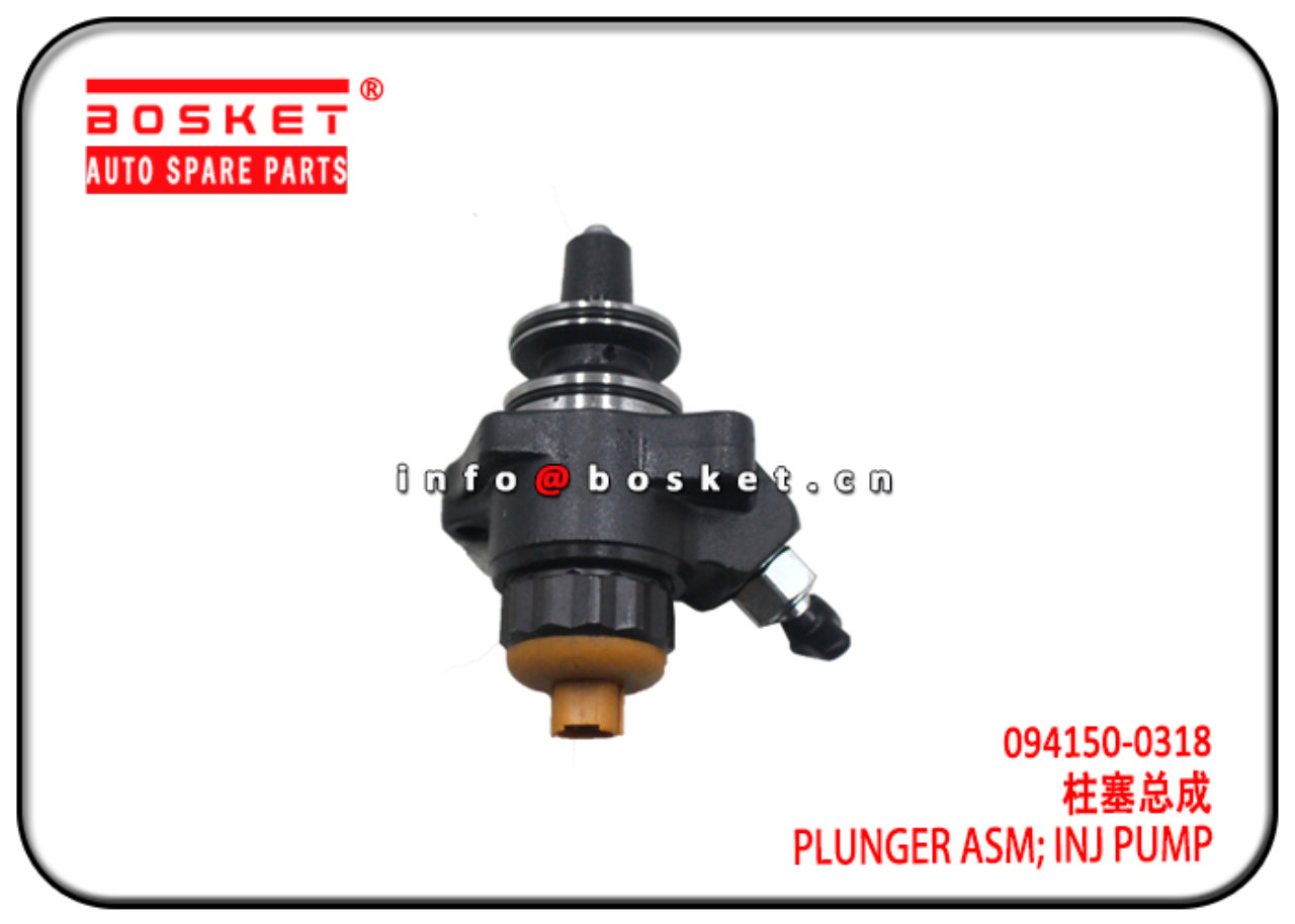 094150-0318 0941500318 Injection Pump Plunger Assembly Suitable for ISUZU 6WF1
