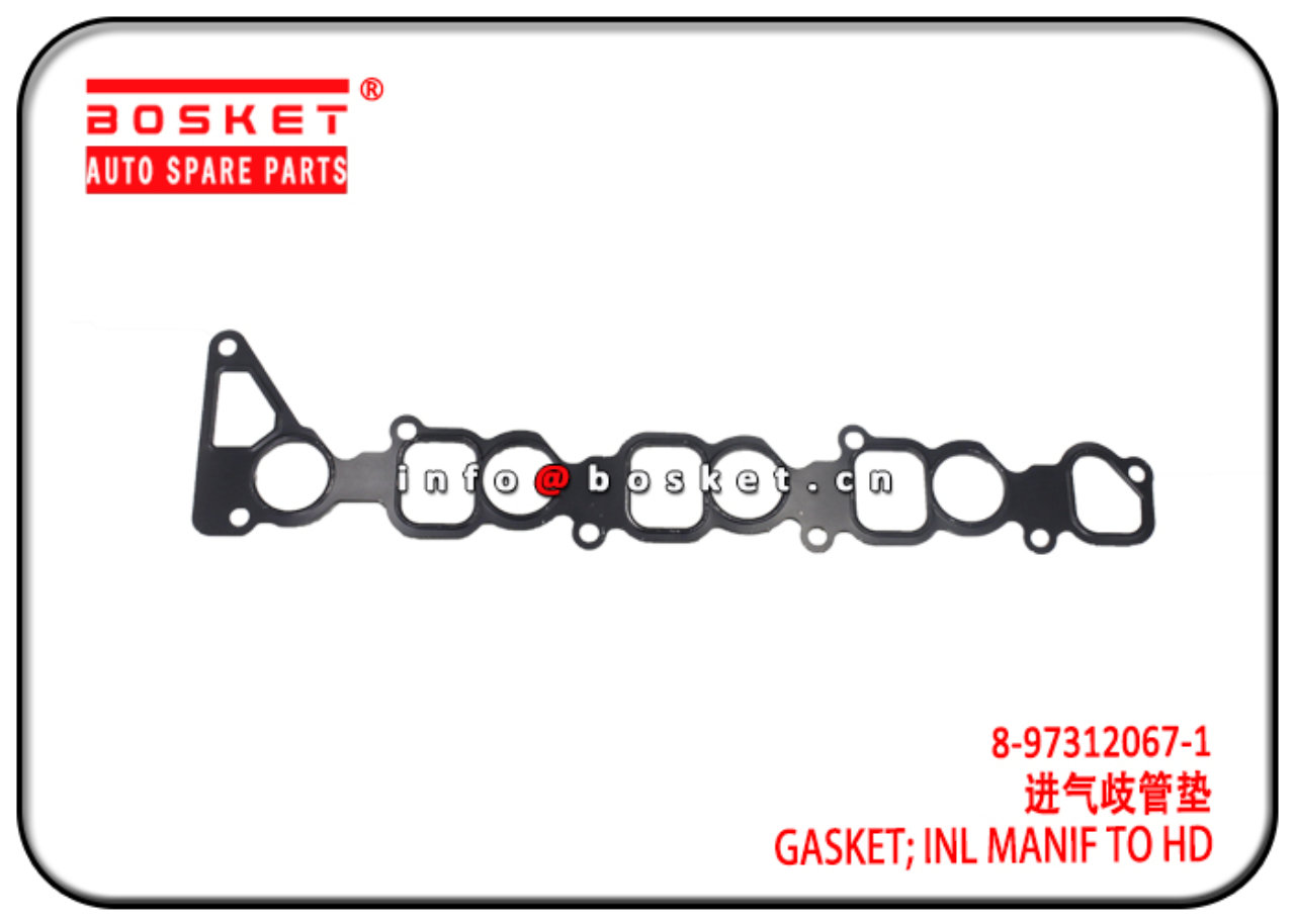 8-97312067-1 8973120671 Inlet Manif To Head Gasket...