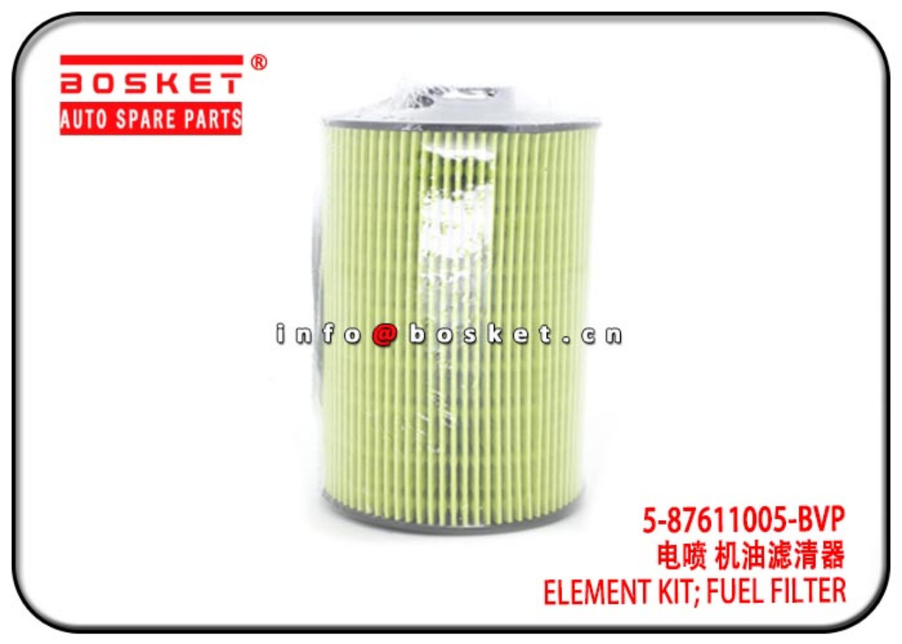8-98152738-0 5-87611005-BVP 8981527380 587611005BVP Filter Fuel Element Kit Suitable For ISUZU 6HK1