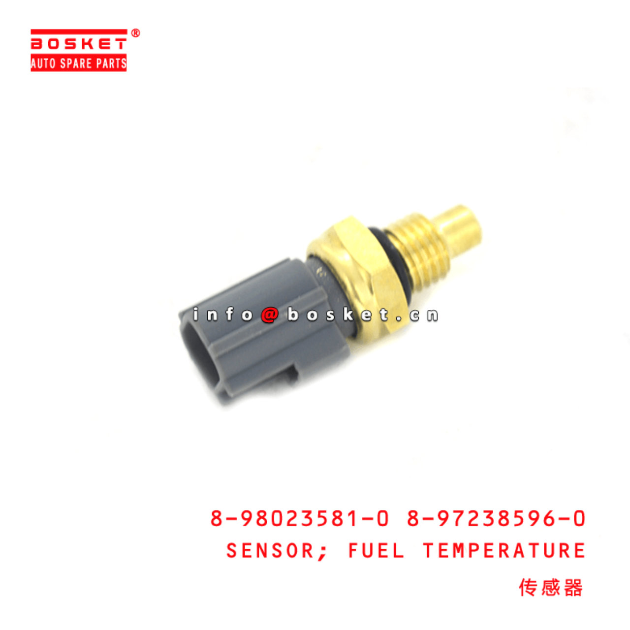 8-98023581-0 8-97238596-0 Fuel Temperature Sensor 8980235810 8972385960 Suitable for ISUZU XE 4JJ1 4