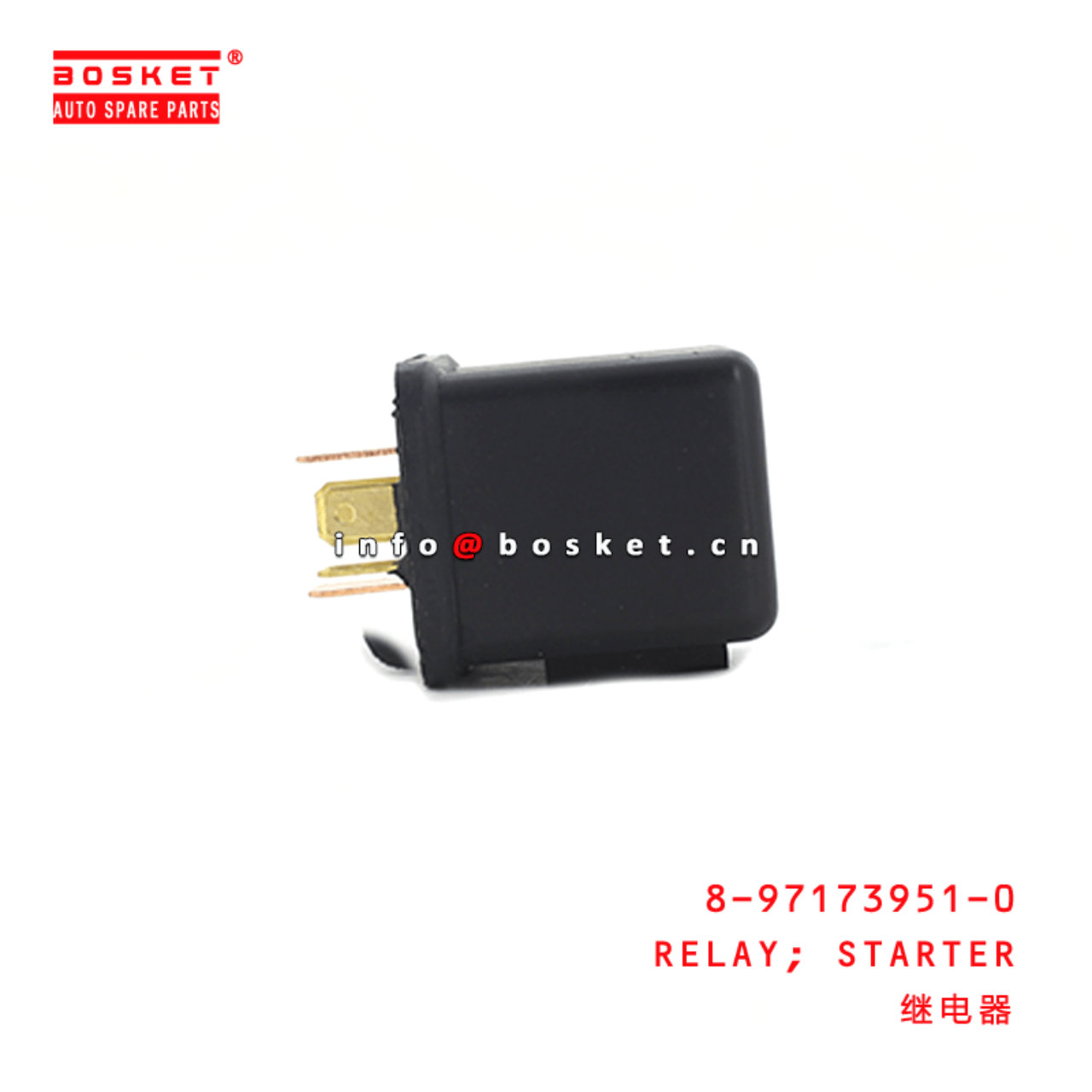 8-97173951-0 Starter Relay 8971739510 Suitable for...