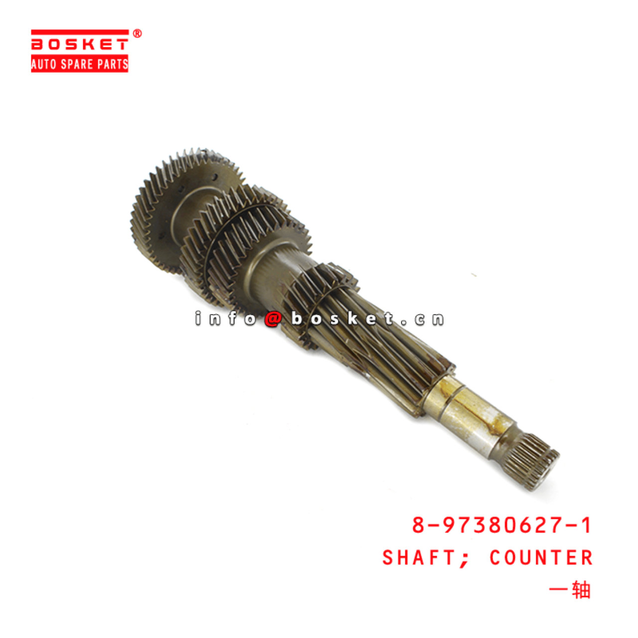 8-97380627-1 Counter Shaft 8973806271 Suitable for ISUZU MYY6S NPR75