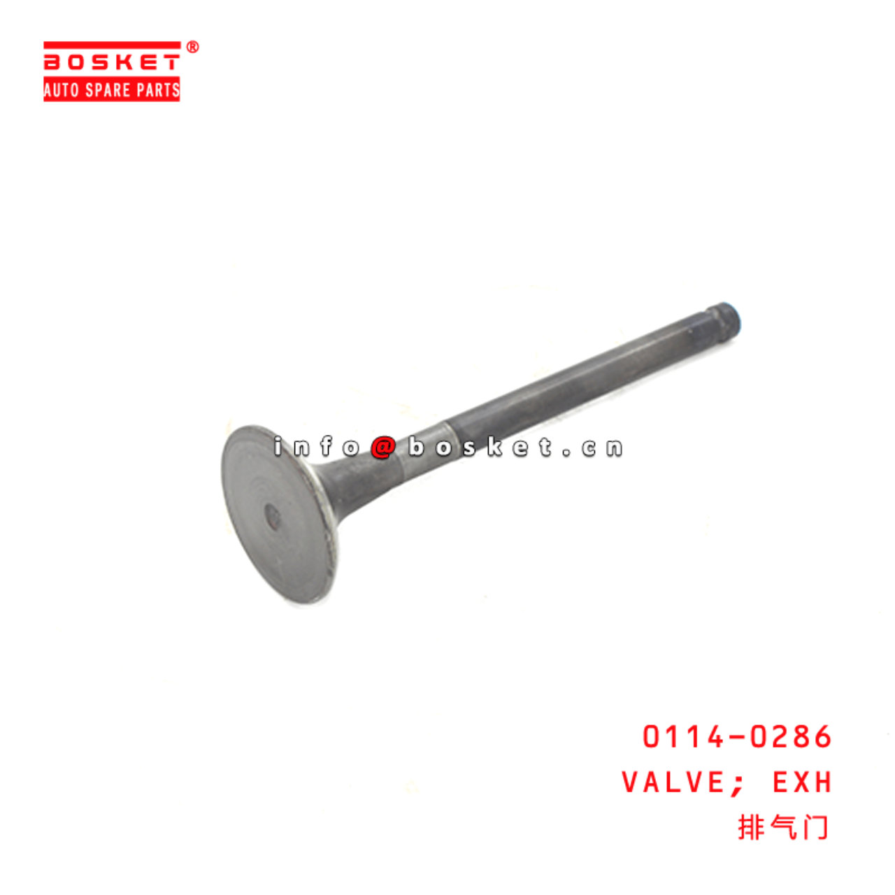 0114-0286 Exhaust Valve Suitable for ISUZU 4JB1