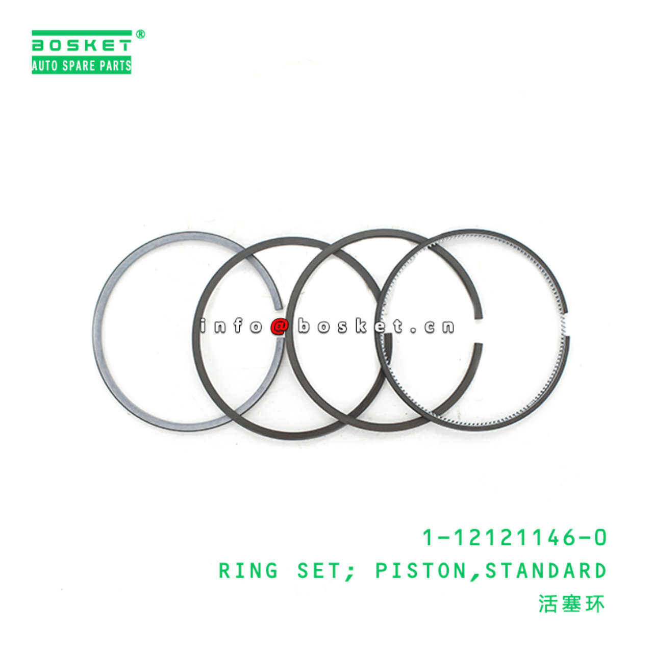 1-12121146-0 Standard Piston Ring Set 1121211460 Suitable for HITACHI ZX200 6BG1T