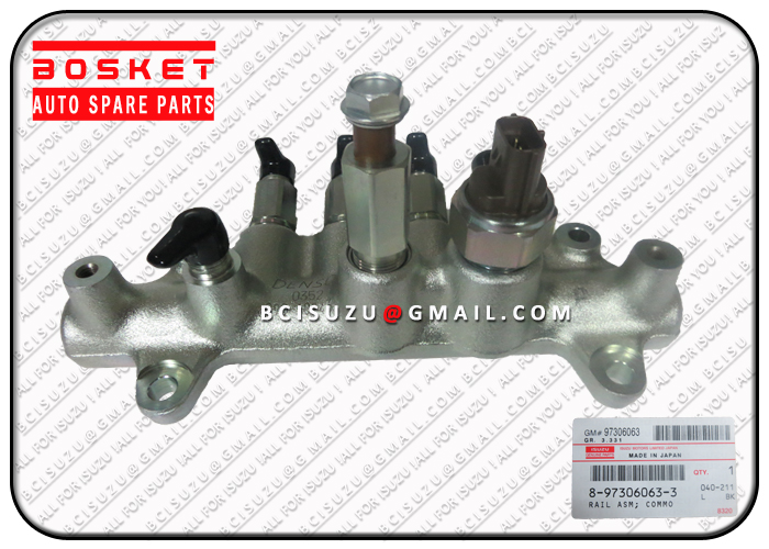 ISUZU 8-97306063-4 4HK1 RAIL ASM; COMMON