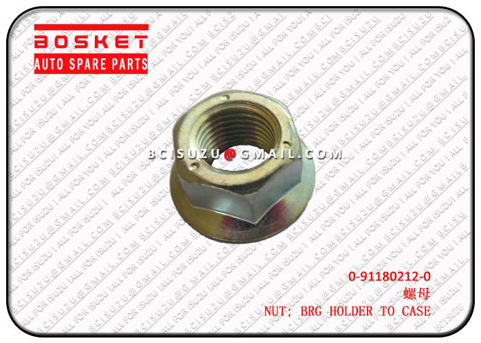 ISUZU 0-91180212-0 4HK1 NUT; BRG HOLDER TO CASE M12