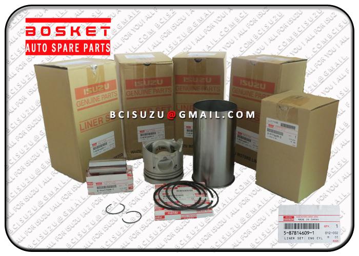 5878146091 5-87814609-1 Engine Cylinder Liner Set For ISUZU 4JG2 Engine