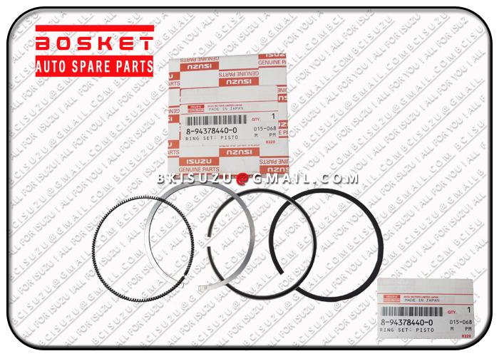 8943784400 8-94378440-0 Standard Piston Ring Set For ISUZU 3KR2 Engine