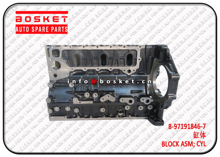 8-98204534-1 8-97173726-7 8982045341 8971737267 Cylinder Block Assembly Suitable for ISUZU 4HG1