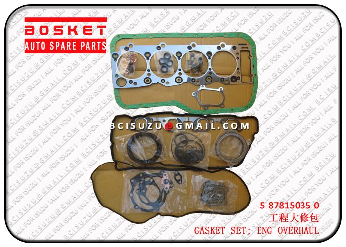 5878150350 5-87815035-0 Engine Overhaul Gasket Set Suitable for ISUZU 4HK1
