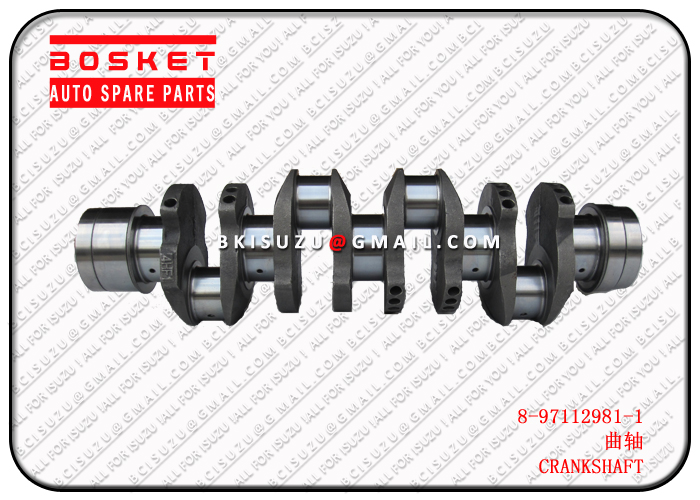 8971129811 8-97112981-1 Crankshafte Suitable for ISUZU NPR66 4HF1