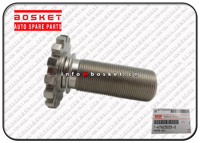 1-47623035-2 1476230352 Front Wheel Cylinder Adjuster Screw Suitable for ISUZU CYZ EXZ