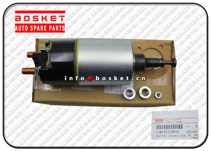 ISUZU CXZ81 10PE1 Engage Starter Switch 1-81151129-0 1811511290