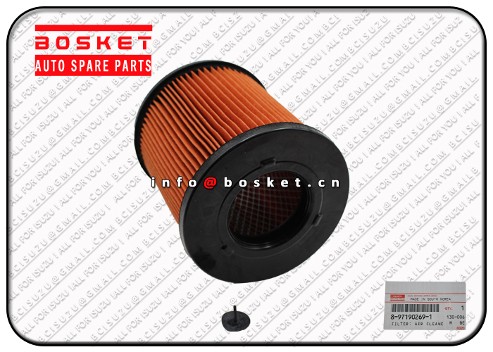 Air Cleaner Filter Suitable for ISUZU 4HG1 8971902691 8-97190269-1