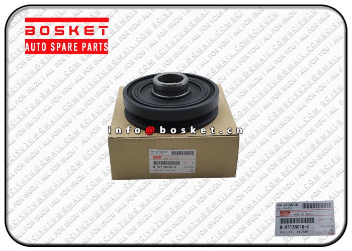 8971380180 8-97138018-0 Crankshaft Pulley Suitable for ISUZU 4BG1 NKR NPR