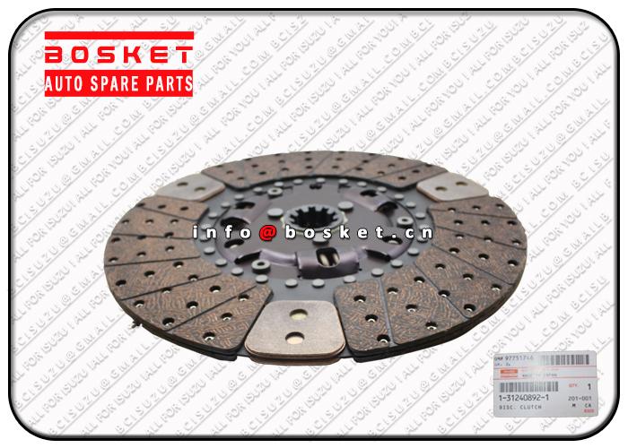 1312408921 1312408760 1-31240892-1 1-31240876-0 Clutch Disc Suitable for ISUZU CXZ81 10PE1