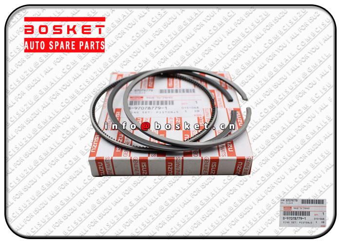 8970787791 8-97078779-1 Standard Piston Ring Set Suitable for ISUZU 4HE1 NKR NPR