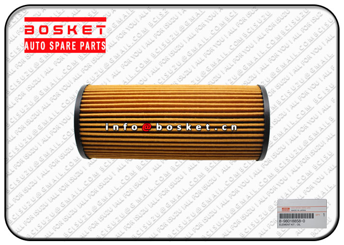 8980188580 8-98018858-0 Oil Filter Element Suitable for ISUZU 4JJ1 NHR NKR