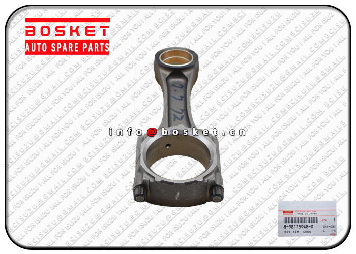 8981159480 1122301762 8-98115948-0 1-12230176-2 Connecting Rod Assembly Suitable for ISUZU CYZ52 6WG
