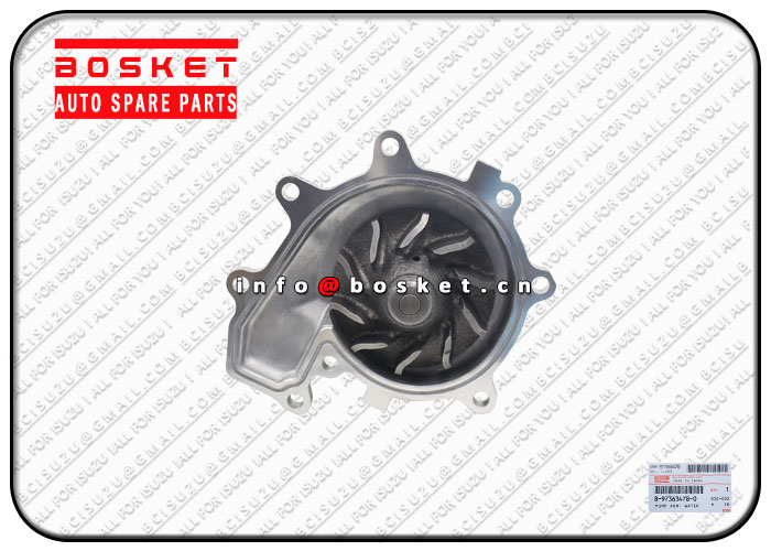 8973634780 5876100890 8-97363478-0 5-87610089-0 Water Pump Assembly Suitable for ISUZU 700P 4HK1