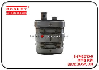 8-97432795-0 8974327950 Exhaust Silencer Assembly Suitable for ISUZU 6WG1 VC61