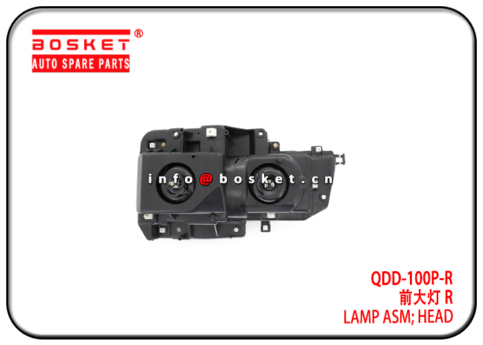 QDD-100P-R QDD100PR Head Lamp Assembly Suitable for ISUZU 100P
