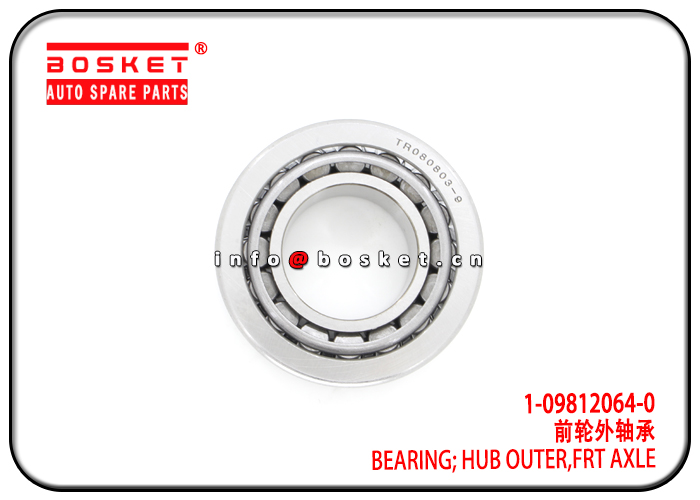 1-09812064-0 TR080803R9 1098120640 TR080803R9 Front Axle Hub Outer Bearing Suitable for ISUZU