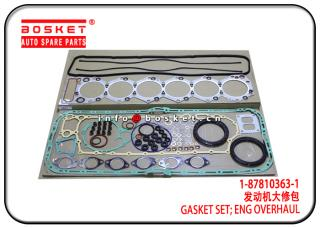 1-87813298-0 1878132980 Engine Overhaul Gasket Set Suitable for ISUZU 6SA1 XE