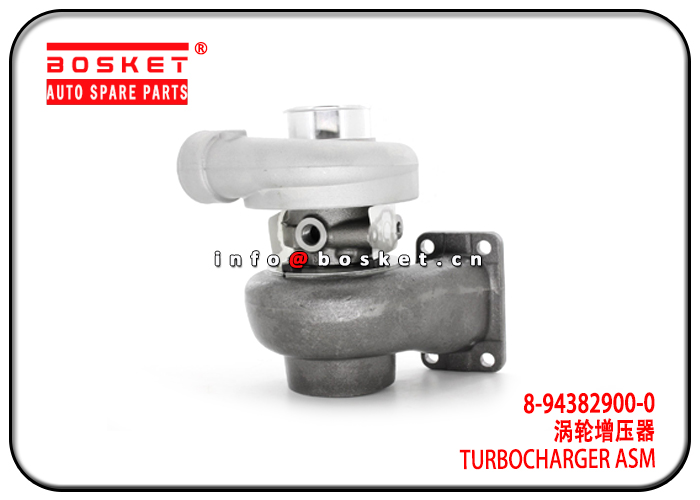 8-94382900-0 8943829000 Turbocharger Assembly Suitable for ISUZU 4BD1 NPR