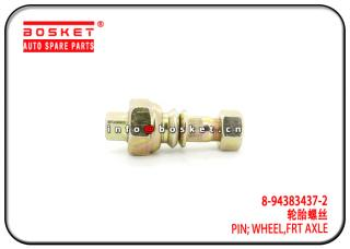 8-94383437-2 8-98007974-0 8943834372 8980079740 Front Axle Wheel Pin Suitable for ISUZU NPR NKR 600P