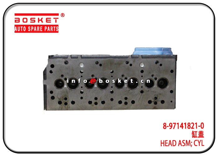 8-97141821-0 8-97013320-1 8971418210 8970133201 Cylinder Head Assembly Suitable for ISUZU 4BD1 4BG1
