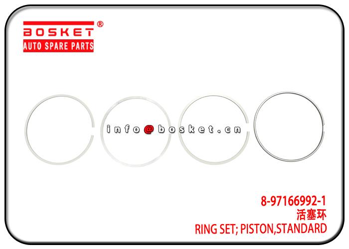 8-97166992-1 8971669921 Standard Piston Ring Set Suitable for ISUZU 4HE1 600P NKR NPR