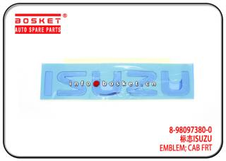 8-98097380-0 8980973800 Cab Front Emblem Suitable for ISUZU DMAX NKR NMR