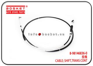 8-98146836-0 8981468360 Transmission Control Shift Cable Suitable for ISUZU NPR