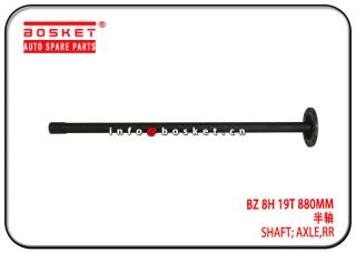 BZ 8H 19T 880MM Rear Axle Shaft Suitable for ISUZU NPR